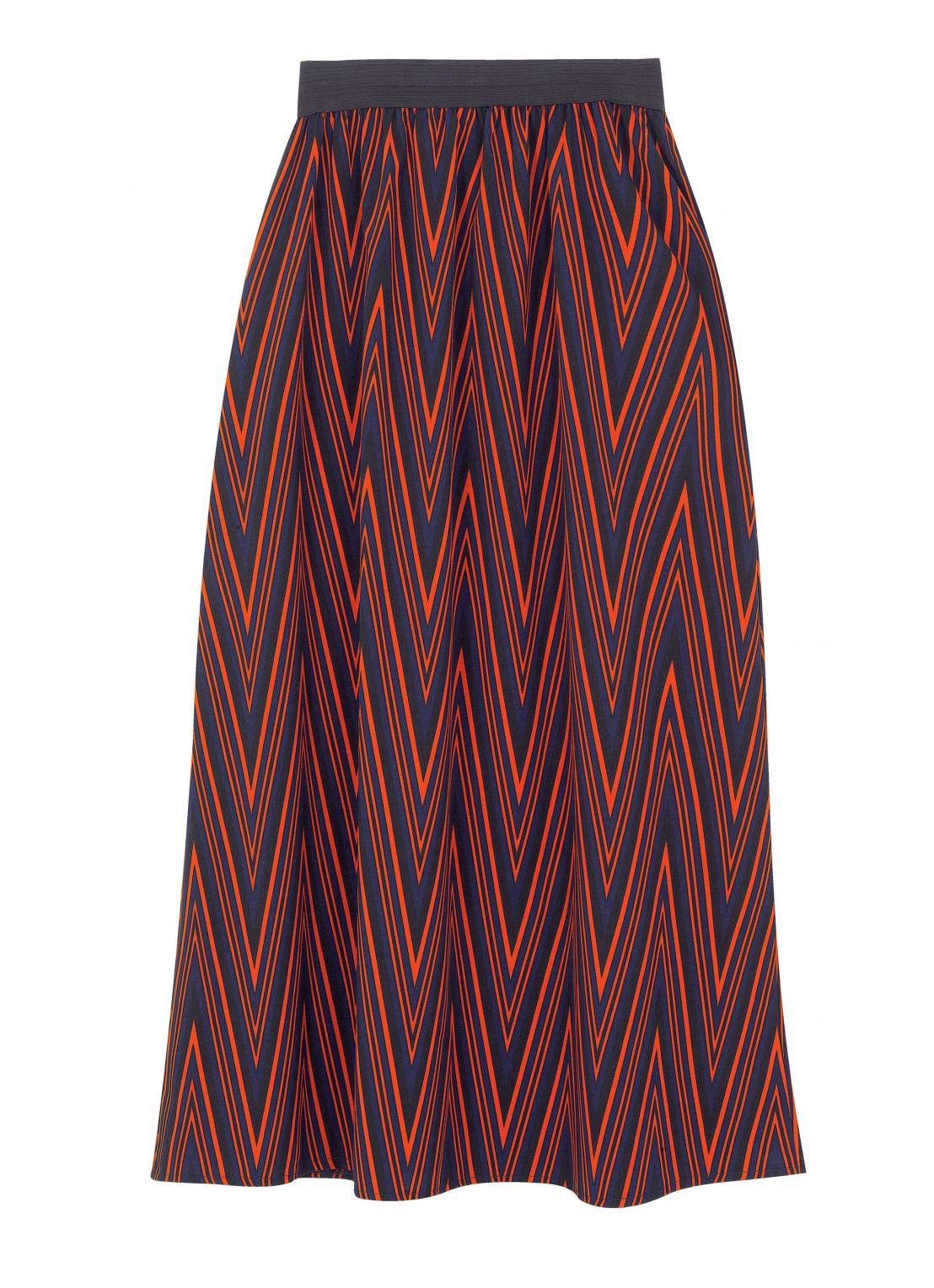 Falda largo