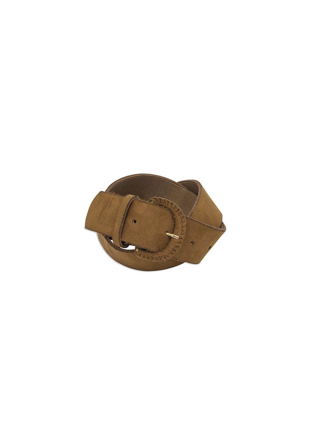 Cinturón-medio camel
