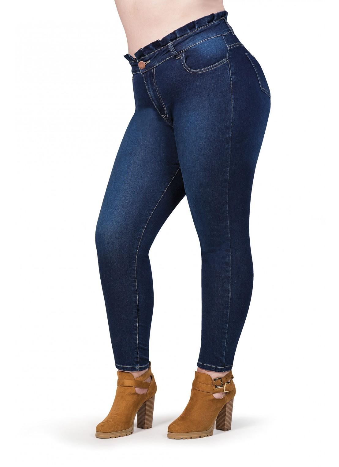 Jeans bag paper skinny