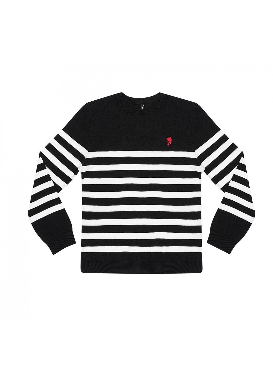 Suéter manga larga
