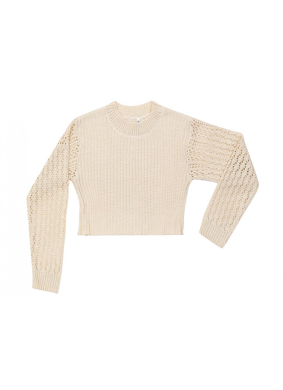 Suéter Manga larga Crop top
