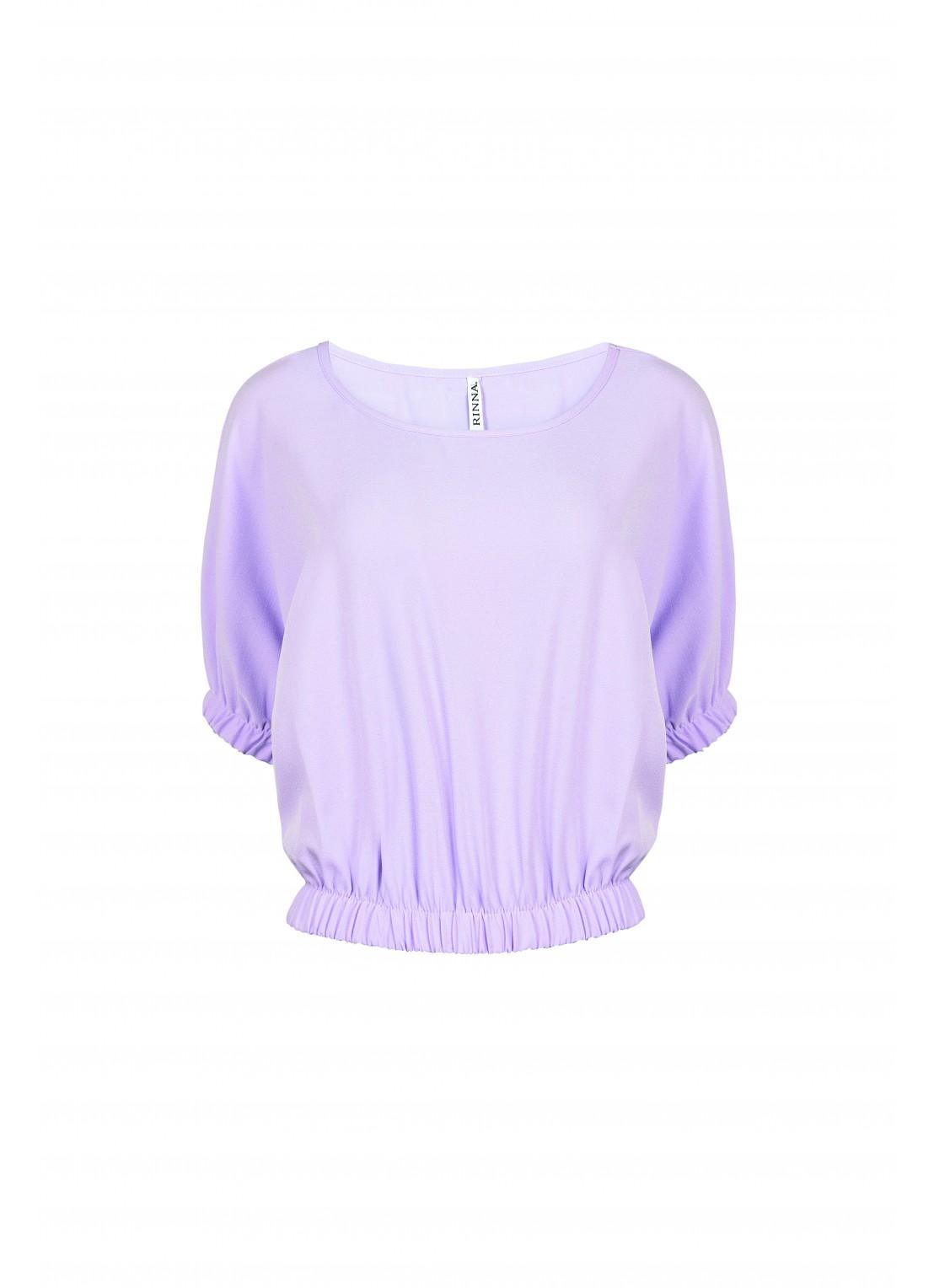 Blusa manga corta lila