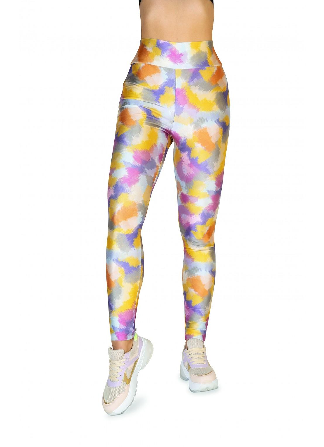 Pants deportivo multicolor