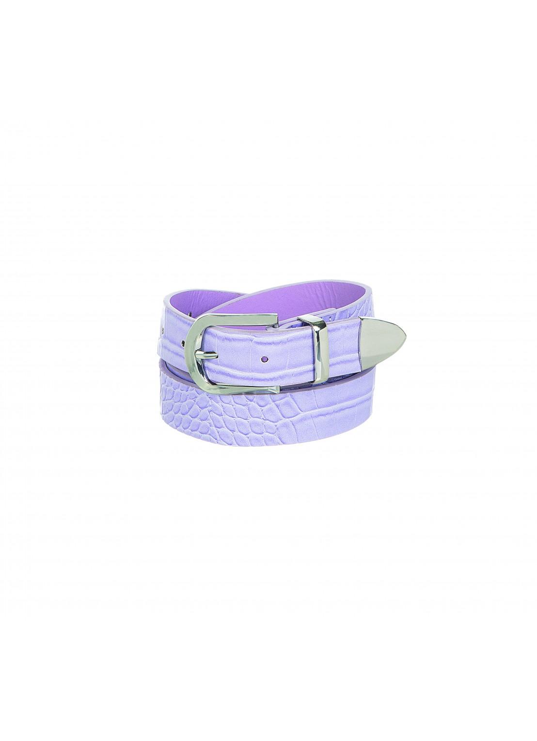 Cinturón-delgado lila