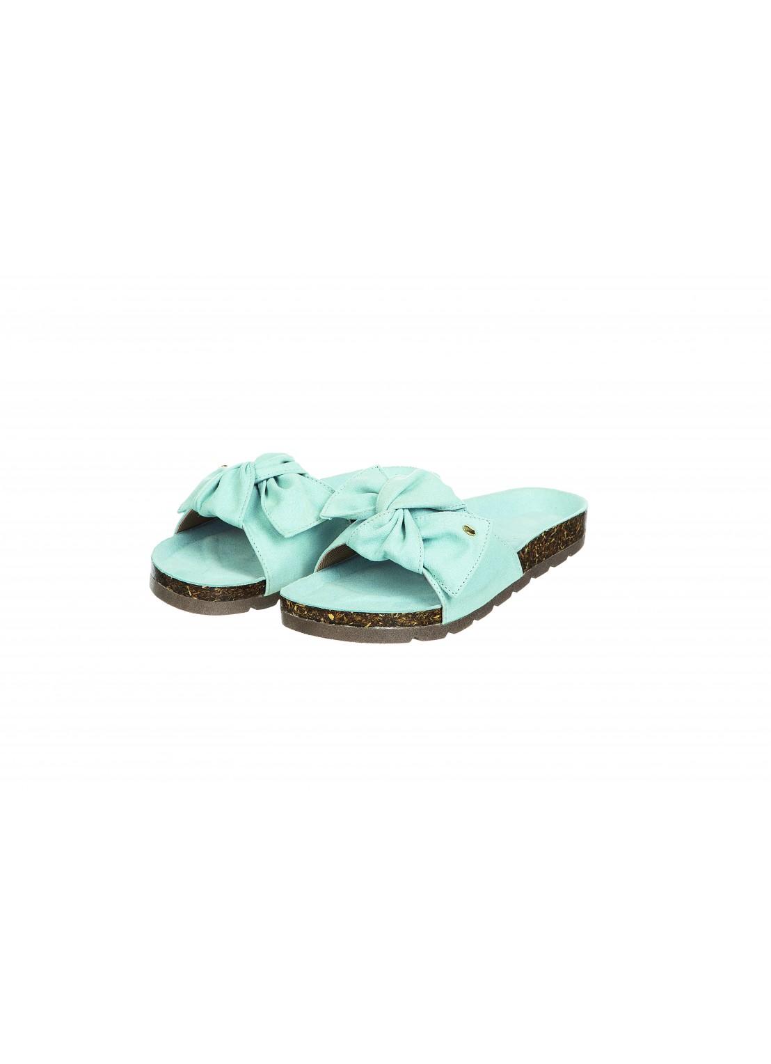 Sandalia piso azul cielo